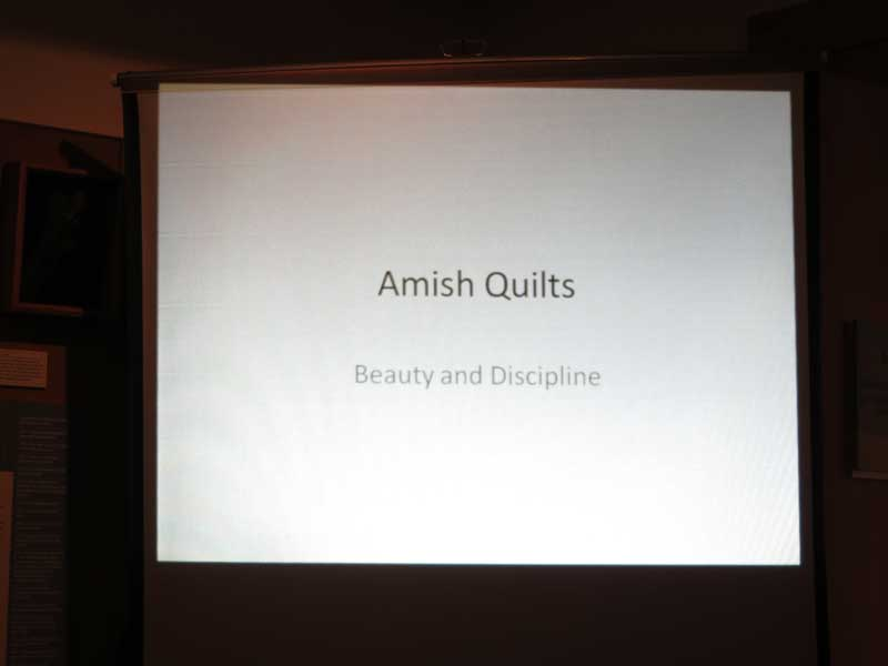 Amish Quilt Lecture – Rehoboth Beach Historical Society
