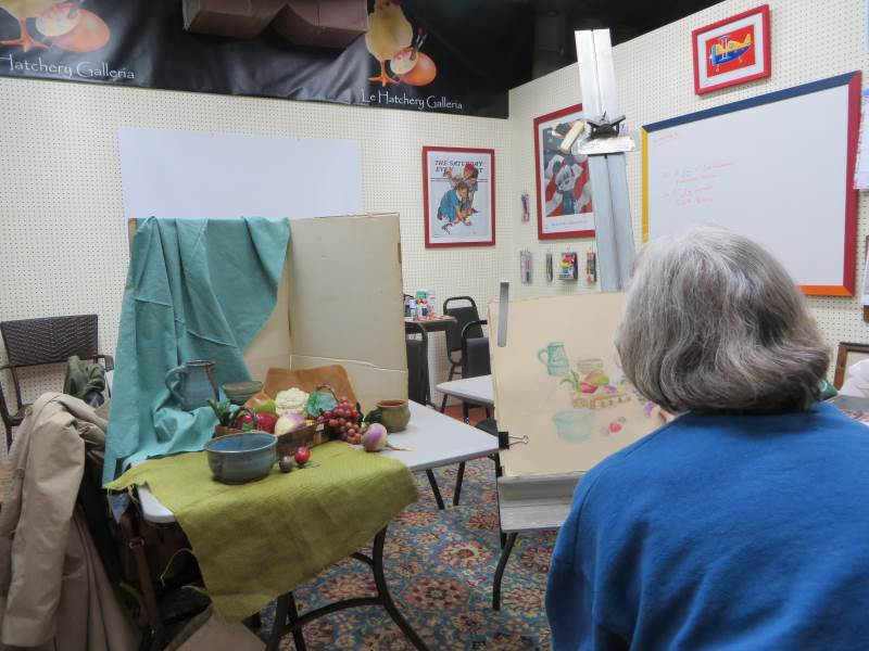 The Calico Gallery Demo – Easton, MD