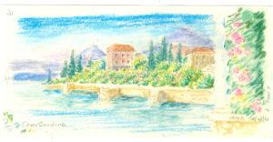 Lake Como pastel